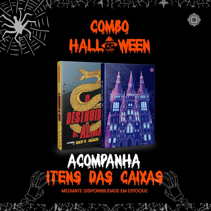 Combo Halloween - Caixa ESC #10 e #11