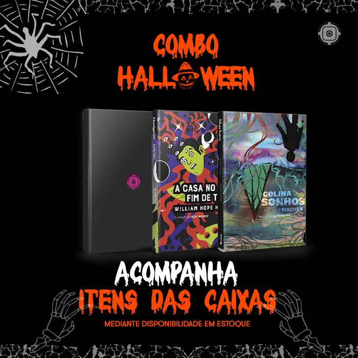 Combo Halloween - Caixa ESC #6 + #8 + #9