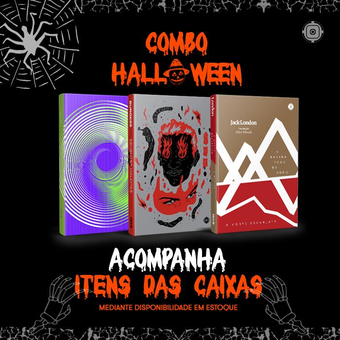 Combo Halloween - Caixa ESC #1 + #2 + #3